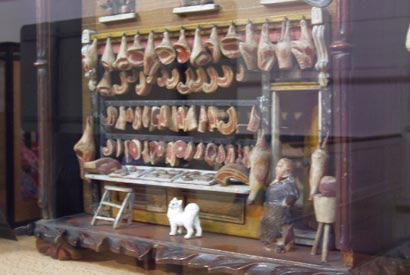 another model butcher's shop from the Museum of Childhood