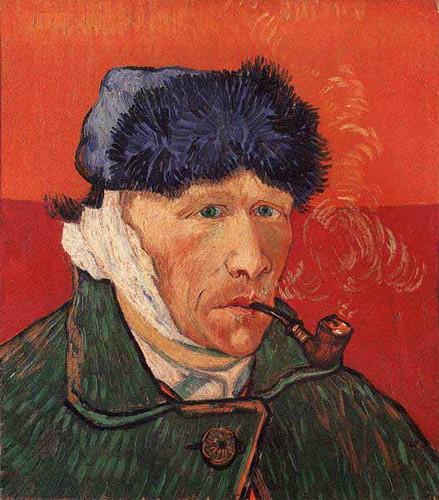 Van Gogh - Autoritratto con orecchio tagliato