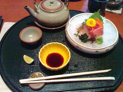 Tea Soup and Sashimi