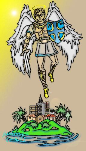 Mulawin creature, am not. I am Saint Michael the archangel.