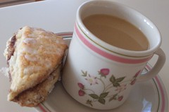 Sugary Cinnamon Scones