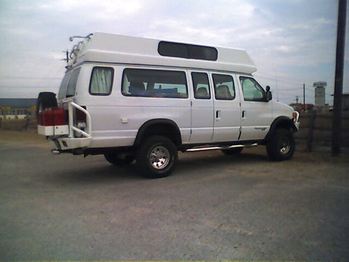 Four Wheel Drive Camper Van