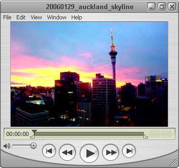 Auckland city skyline 29/01/2006