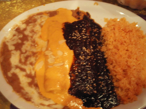 Enchiladas from La Fiesta in Mountain View