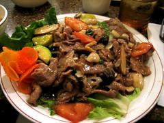 basil pork