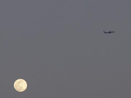 the moon & jet