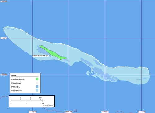 Ponam Island - Map
