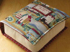 Book Pillow photo by PatchworkPottery