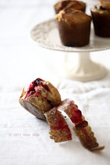 mixed berry muffins photo by Vivian An
