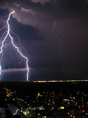 Lightning over Norman photo by Ottergoose