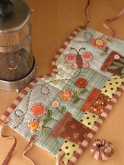 GARDEN French Press Cozy photo by PatchworkPottery