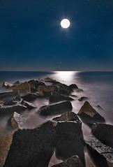 Vilano Beach Moon Rocks photo by JamesWatkins