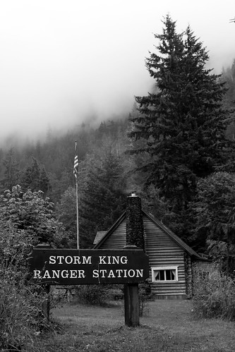 Storm King Ranger Station - well named