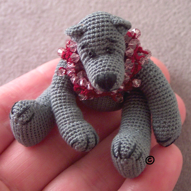 BOMBON Thread Crochet Bear Pattern by Edith Molina - PDF. $5.99