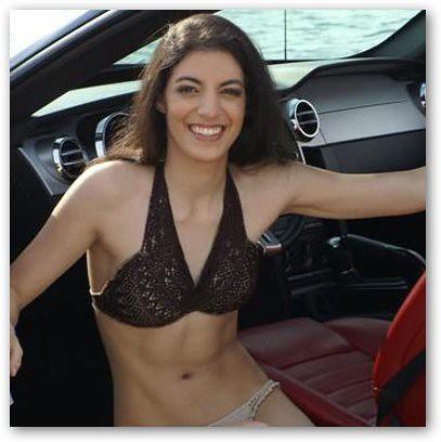 Ranae Shrider in bikini