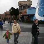 Walking round Disney Stuidos<br/>07 Oct 2008