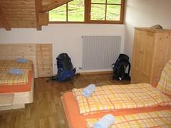 Zimmer in der Plattkofelhütte