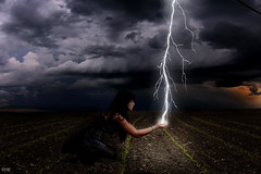 Day 57/365-The Lightning Catcher photo by emyah