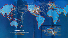 Pan Am route map 1980 photo by denon2500
