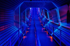 Disney - Space Mountain Star Tunnel photo by Express Monorail