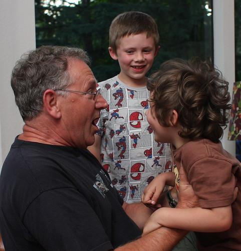 boya and granddad