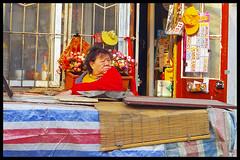 Hutong shopkeeper, Beijing photo by Eric Flexyourhead