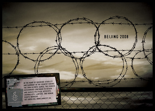 amnesty beijing 2008 olympic games human rights