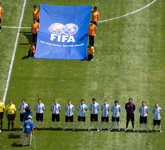 The Argentina Team - Nigeria vs Argentina - Football Gold Medal Match ...