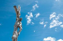 Kreuz am Crespeina Joch