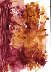 Abstract Art Watercolor - Frogs and Smiles of Mimes photo by Jose F. Sosa