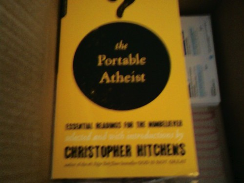 THE PORTABLE ATHEIST Essential Readings for the NONBELIEVER by CHRISTOPHER HITCHENS