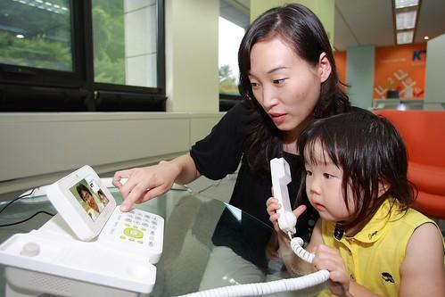 KT 인터넷전화 영상폰 출시(2)