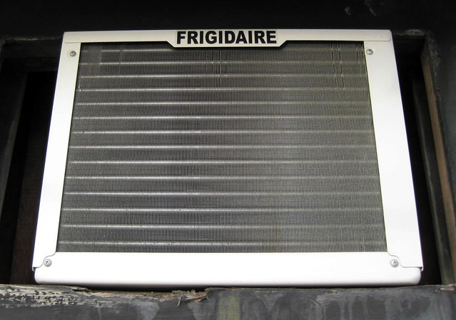 Frigidaire's FRA065AT7 6,000 BTU Mini Compact Window Air Conditioner is perfect for small to medium size rooms up to 216-square feet. This unit features electronic