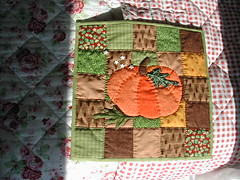 A pumpkin quilt photo by Salted River