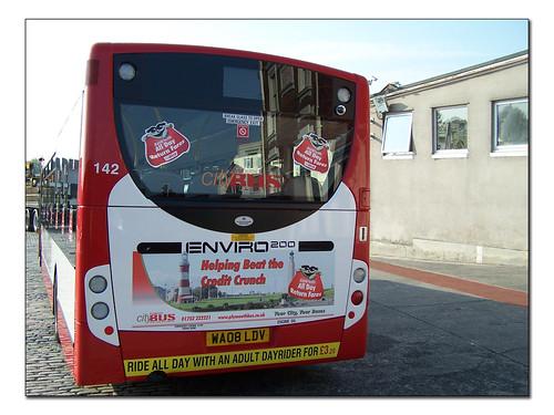 Plymouth Citybus 142 WA08LDV