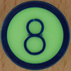 Colour Bingo green number 8