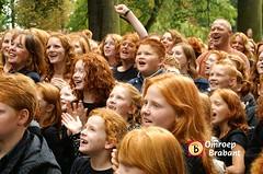 Breda kleurt Rood! photo by Omroep Brabant