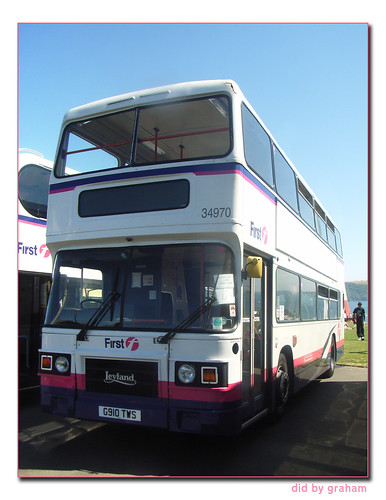 First Devon and Cornwall 34970 G910TWS