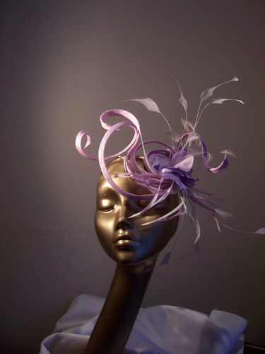 Millinery Classes - Hat making for all occasions - June 08 onwards — Irish Craft Update :  hair accessory purple hair accessories hair