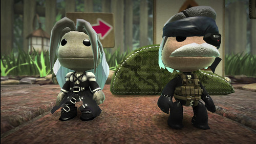Little Big Planet - Sephiroth & Snake
