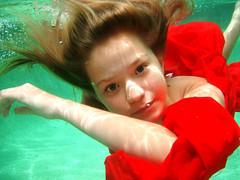 underwater photo by beauty is in the eye