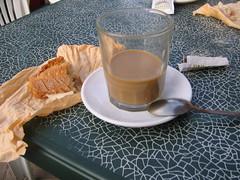 Cafe con Leche & a Bocadillo
