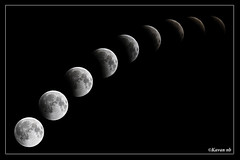 Lunar eclipse photo by kavan.