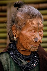 India - Arunachal Pradesh - Apatani woman photo by RURO photography