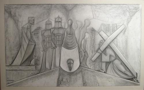 Gaudi Drawing