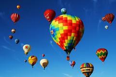 Albuquerque Balloons 2007 - explore photo by Marvin Bredel
