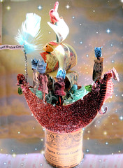 The Fairytale Boat Follies! My Tinsel Workshop! 2 photo by Lisa Kettell