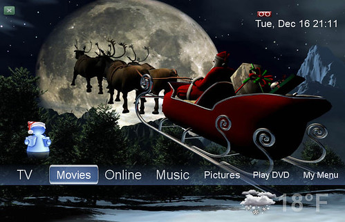 5 free christmas themes for windows 7.
