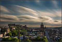 Edinburgh goes flying at the speed of sound photo by Ally Mac