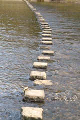 Stepping Stones photo by grahamramsden52